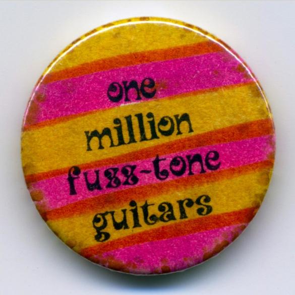 One Million Fuzztone Guitars 'Planet' Badge