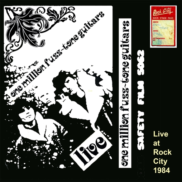 One Million Fuzztone Guitars Live at Rock City 1984 12 72